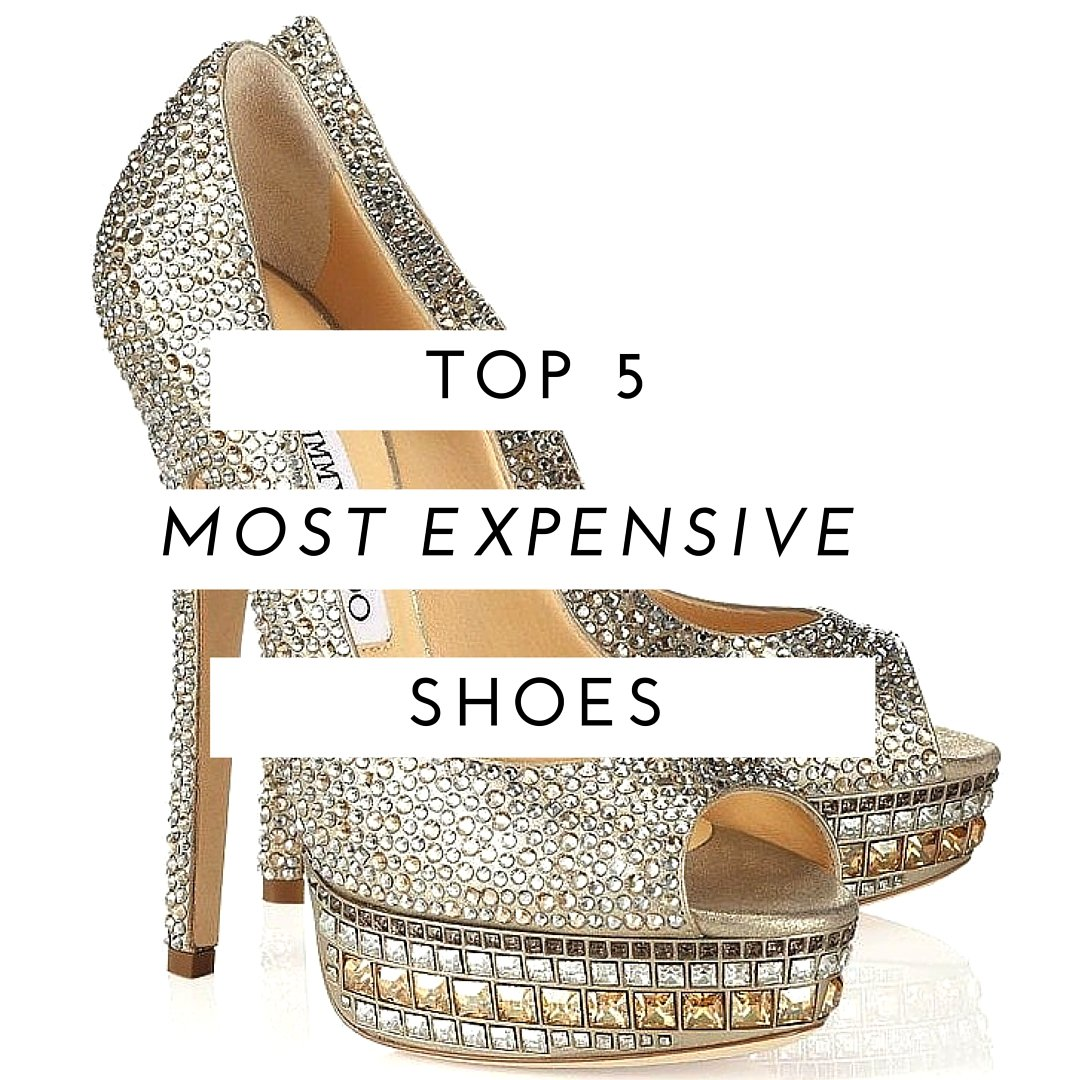 Top 5 Most Expensive Shoes in the World
