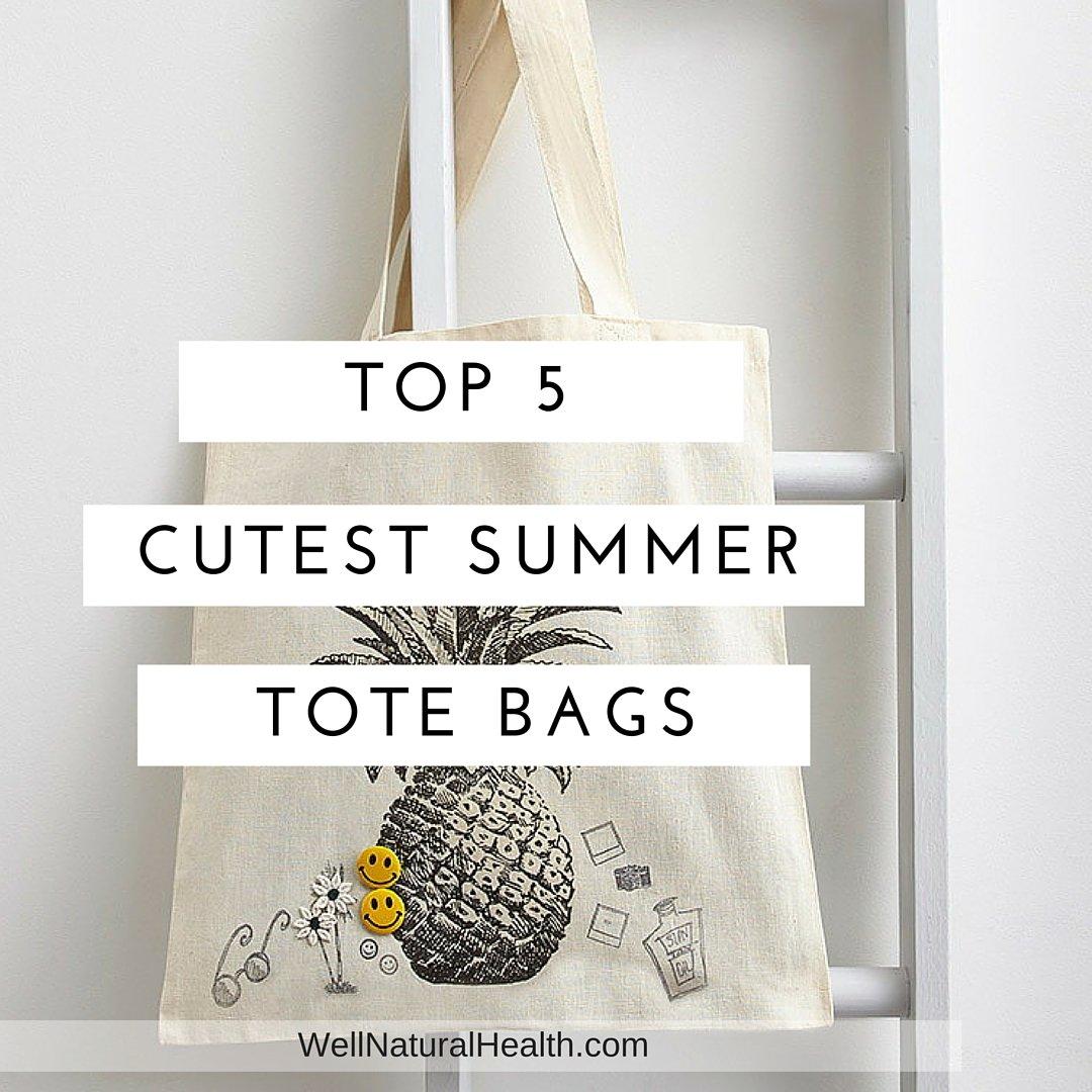Top 5 Cutest Summer Beach Tote Bags